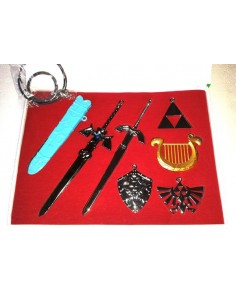 Merchandising Zelda - set
