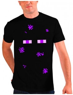 Camiseta Minecraft - Enderman
