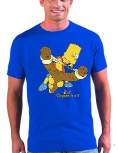 Camiseta Bart Simpson is nº1