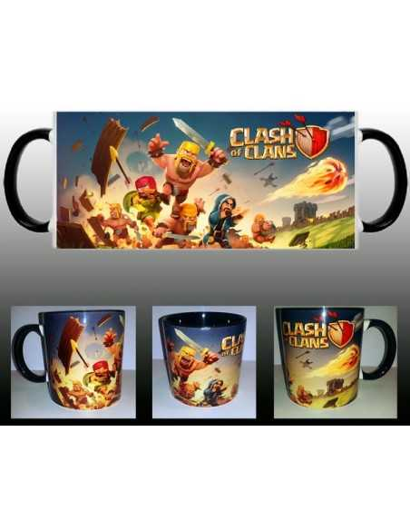 Taza Clash of clans Fight day