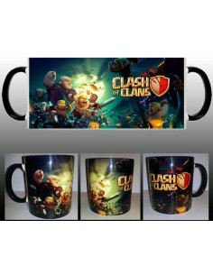 Taza Clash of clans Fight night
