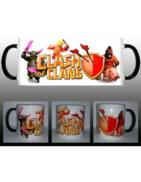 Taza Clash of clans montapuerco