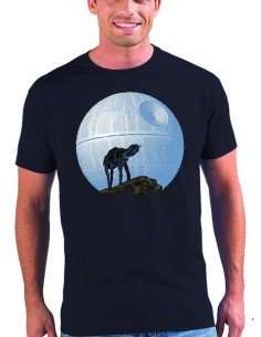 Camiseta Star Wars At-At estrella de la muerte