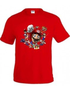 Camiseta Super Mario Party