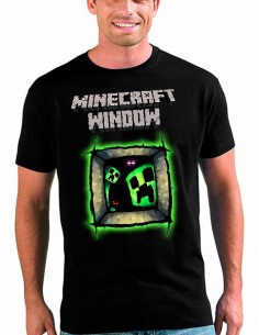 Camiseta Minecraft window