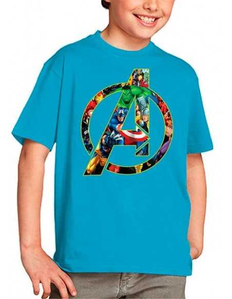 Camiseta The Avengers niños
