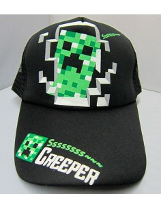 Gorra Minecraft Creeper Ssss