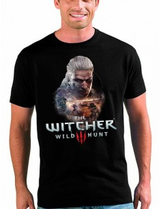 Camiseta The Witcher 3 Art