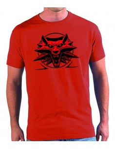 Camiseta The Witcher 3 Emblema