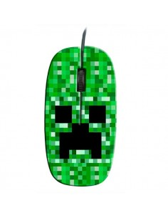 Ratón Creeper Minecraft Pixel