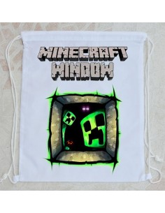Bolsa de playa Minecraft window