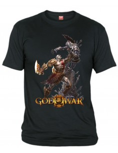 Camiseta God Of War 3 Kratos Warrior