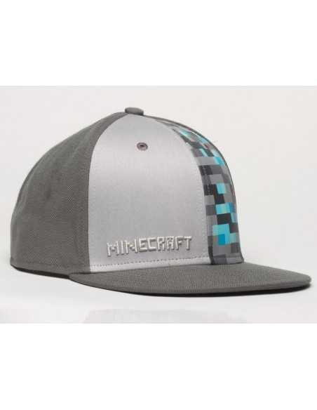 Gorra Minecraft Diamante
