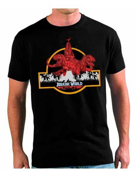 Camiseta Jurassic World Dinosaurios