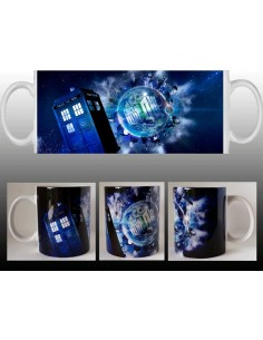 Taza Doctor Who World