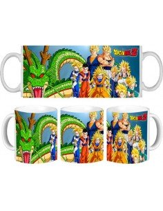 Taza Dragon Ball Z grupo