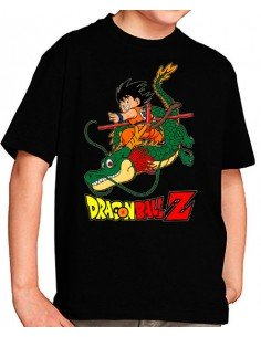 Camiseta Dragon Ball niños- Young Goku