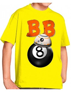 Camiseta Star Wars BB-8 Pool 8 niños
