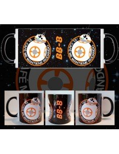 Taza Star Wars BB-8 café