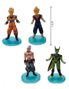 Figuras dragon ball Z pack 4 figuras