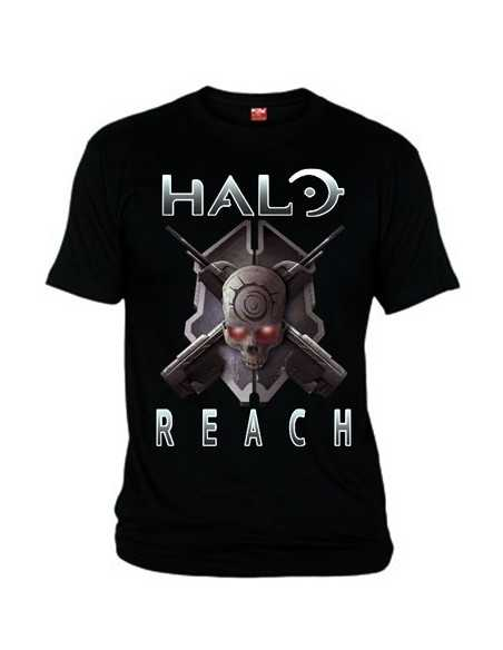 Camiseta Halo Reach Scull Armas