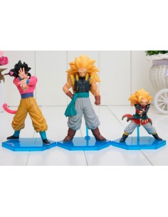 Figuras Dragon Ball Z pack 3 figuras