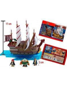 Figura Barco One Piece Red Force