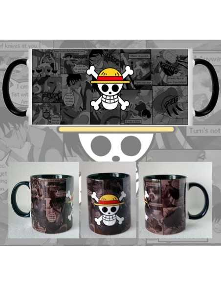 Taza One Piece manga