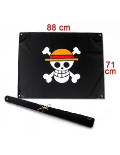 Bandera One Piece Luffy tamaño real