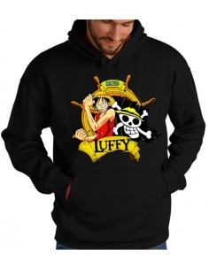 Sudadera One Piece Luffy -Timón