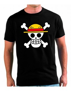 "Camiseta One Piece ""bandera Luffy"""