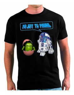 Camiseta Star Wars - R2D2 Padre