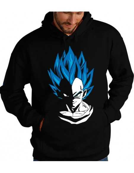Sudadera Vegeta Super Saiyan Dios SS - Dragon Ball Z