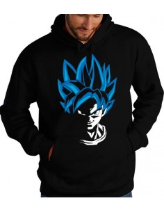 Sudadera Goku Super Saiyan Dios SS - Dragon Ball Z