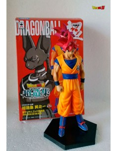 Figura dragon ball Super - Goku Super Saiyan Dios