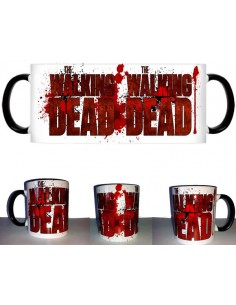 Taza The walking Dead Logo Splatter