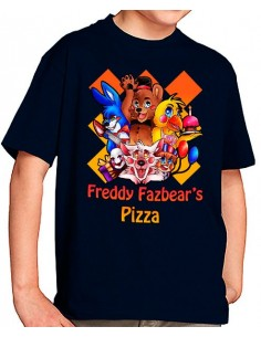 Camiseta five nights at freddy's Pizza