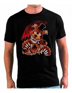 Camiseta five nights at freddy's Nightmare