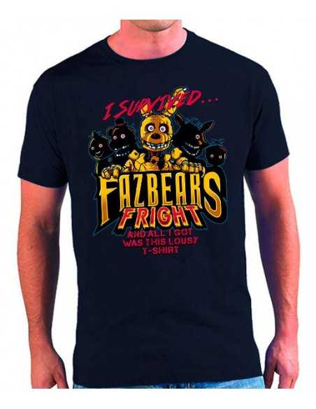 Camiseta five nights at freddy's Survived