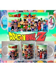 Taza Dragon Ball Z Fuerzas Especiales