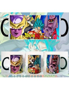 Taza Dragon Ball Super Golden Freezer
