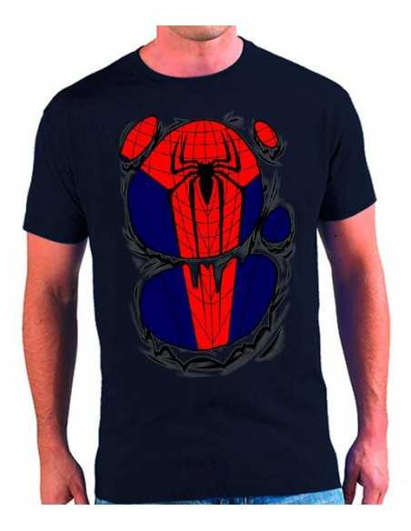 "Camiseta Amazing Spiderman ""rasgada"""