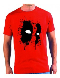 Camiseta DeadPool salpicaduras