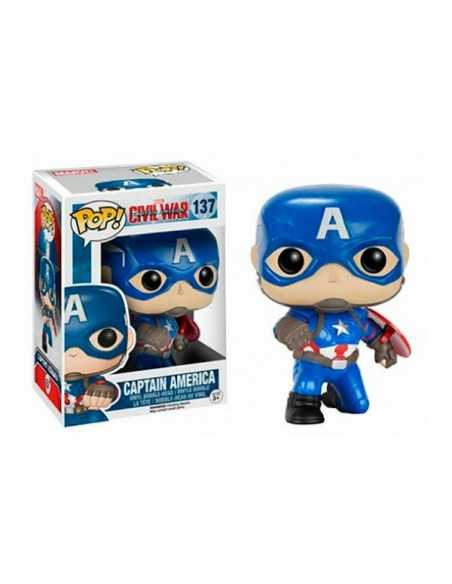 Figura Pop Capitán América civil war 137