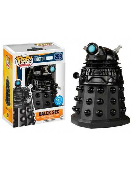 Figura Pop Dalek Sec Negro - Doctor Who