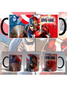 Taza Capitán América Civil War