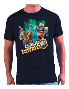 Camiseta Clash Royale Rey