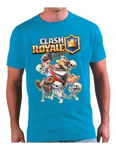 Camiseta Clash Royale caballero