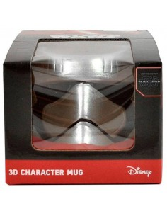 Taza Star Wars casco Capitán Phasma 3D