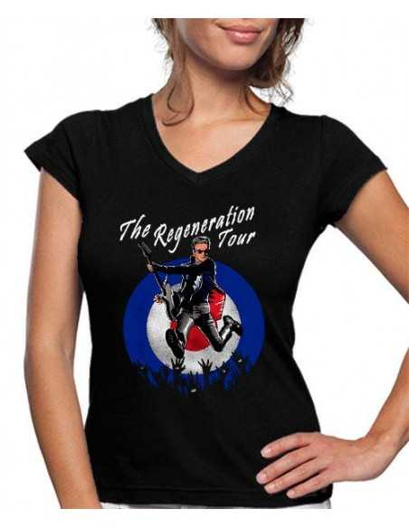 Camiseta Mujer 12º Doctor Who Tour
